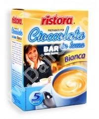 Ciocolata densa alba instant Ristora 5 plic