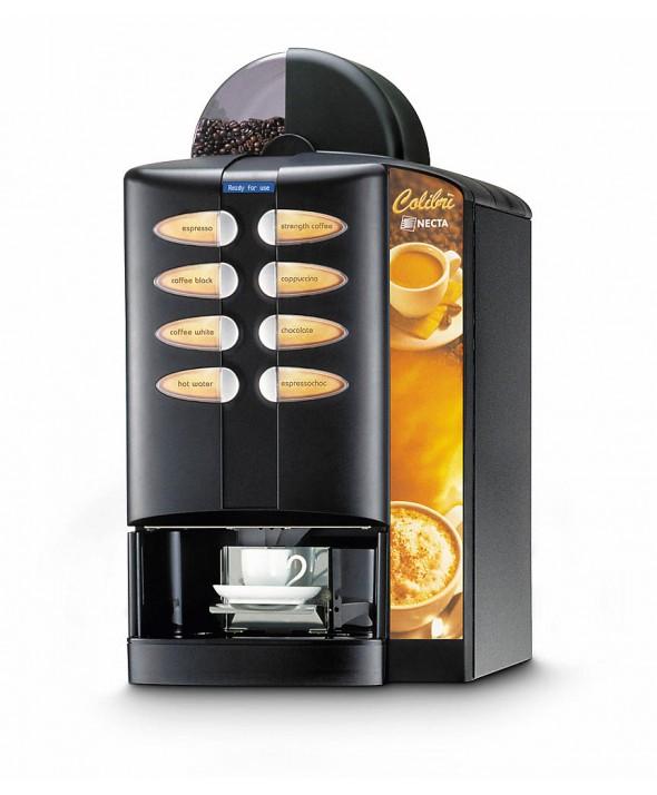 Distiribuitor cafea si bauturi calde semiautomat COLIBRI ES3 NECTA
