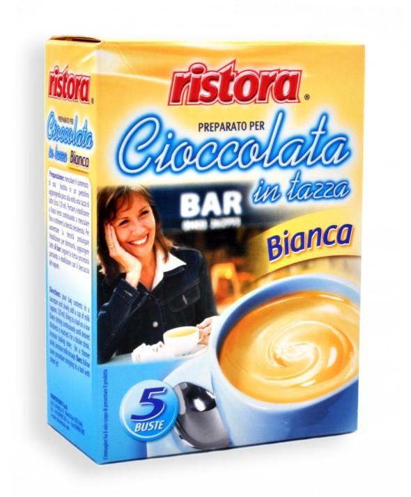 Ciocolata densa alba instant Ristora 5 plicuri x 23g
